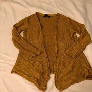 Marigold knit long cardigan